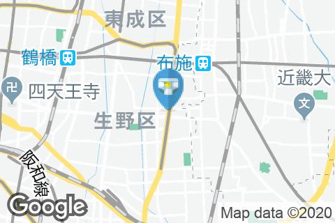 サイゼリヤ大阪生野巽店のオムツ替え台情報