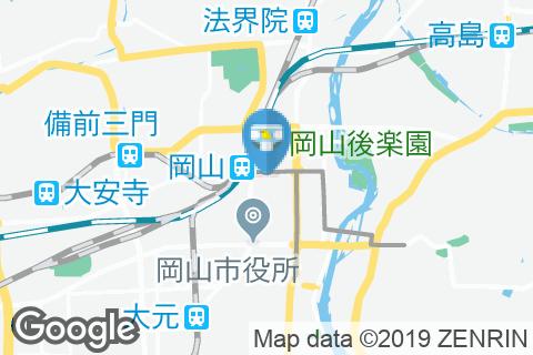 かに道楽 岡山店(1F)のオムツ替え台情報