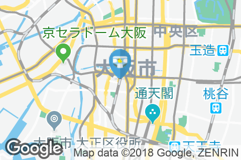 JR難波駅(改札内)のオムツ替え台情報