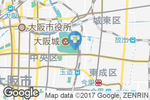 大阪城(1F)のオムツ替え台情報