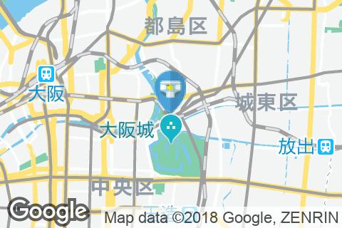 大阪城北詰駅(改札内)のオムツ替え台情報