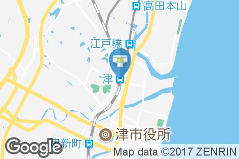 津駅(JRホーム内1つ 2階近鉄側に1つオムツ台付トイレあり)のオムツ替え台情報