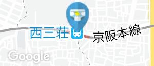 西三荘駅(改札内)のオムツ替え台情報