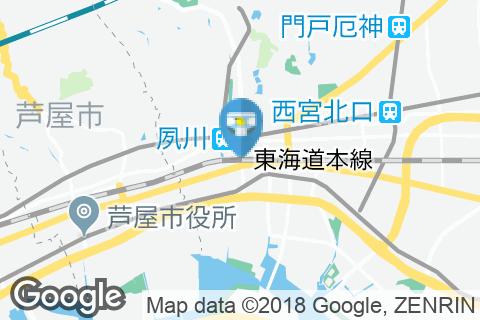 さくら夙川駅(改札内)のオムツ替え台情報