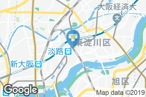 JR淡路駅(1F)のオムツ替え台情報