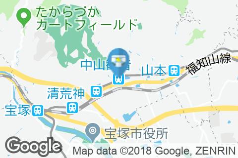 中山観音駅(改札内)のオムツ替え台情報