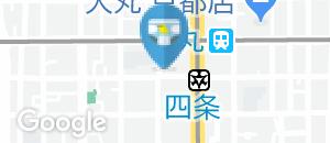 マクドナルド 四条烏丸店(1F)のオムツ替え台情報