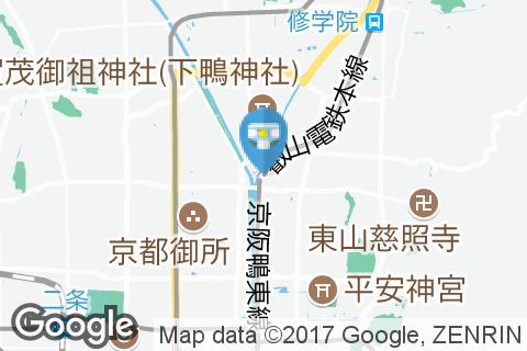 出町柳駅(1F)のオムツ替え台情報