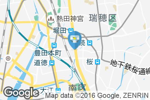 デニーズ 堀田神穂通店のオムツ替え台情報