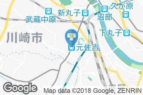 元住吉駅(改札内)のオムツ替え台情報