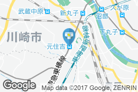 温野菜 元住吉店(2F)のオムツ替え台情報