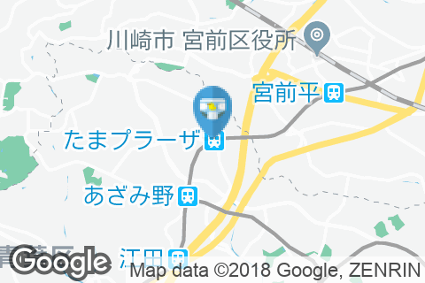 たまプラーザ駅(改札内)のオムツ替え台情報