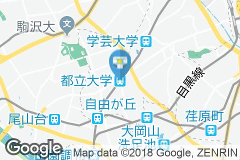 都立大学駅(改札内)のオムツ替え台情報