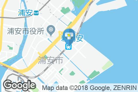 新浦安駅(改札内)のオムツ替え台情報