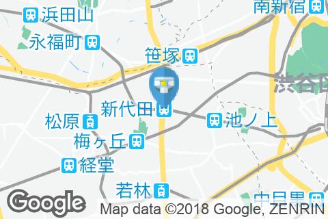 新代田駅(改札内)のオムツ替え台情報