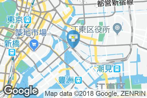 越中島駅(改札内)のオムツ替え台情報