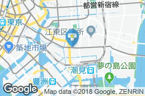 木場駅(改札外)のオムツ替え台情報