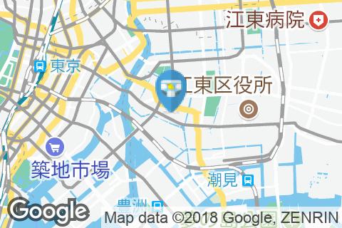 江東区 富岡出張所(1F)のオムツ替え台情報