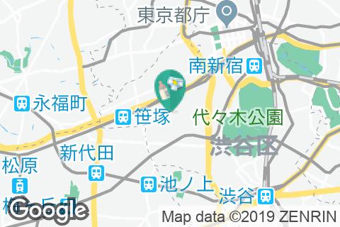 渋谷区 地域交流センター西原(3F)の授乳室・オムツ替え台情報