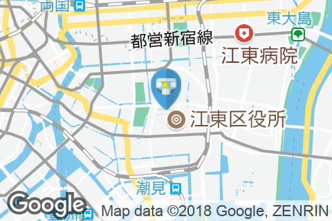 ホテル イースト21東京(3F)のオムツ替え台情報