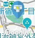 新宿御苑 レストハウス横トイレのオムツ替え台情報