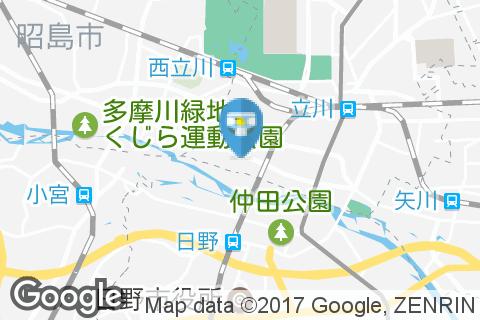 東京スバル立川(多目的トイレ内)のオムツ替え台情報