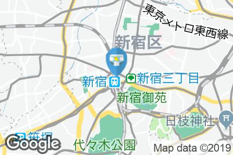 ルミネエスト新宿店(7Fレストランフロア 女性トイレ)のオムツ替え台情報