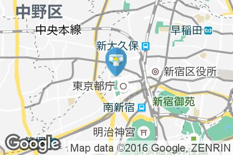 デニーズ 新宿中央公園店のオムツ替え台情報