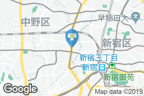 バーミヤン 中野坂上店(1F)のオムツ替え台情報