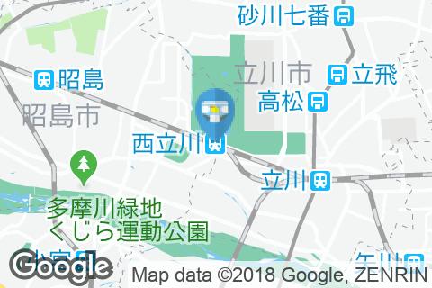 西立川駅(改札内)のオムツ替え台情報