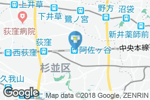 阿佐ケ谷駅(改札内)のオムツ替え台情報