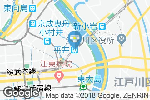 平井駅(改札内)のオムツ替え台情報