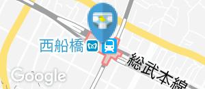 西船橋駅(多機能トイレ)のオムツ替え台情報