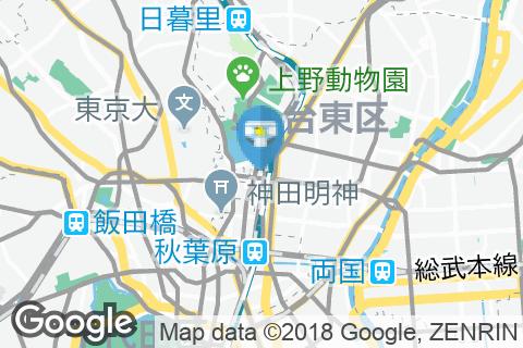 すたみな太郎NEXT 上野アメ横店のオムツ替え台情報