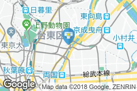 デニーズ 浅草雷門店(2F)のオムツ替え台情報