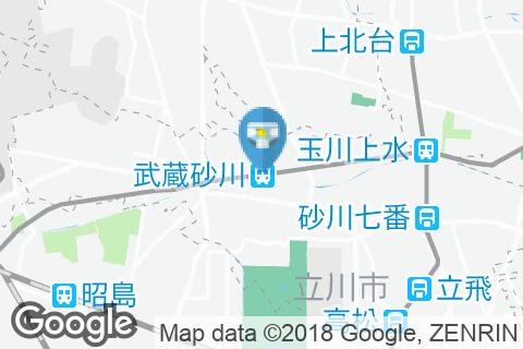 武蔵砂川駅(改札内)のオムツ替え台情報