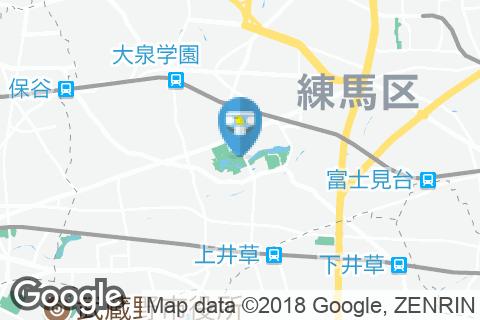 石神井公園(多機能トイレ)のオムツ替え台情報