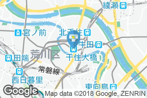 千住大橋駅(1F トイレ内)のオムツ替え台情報