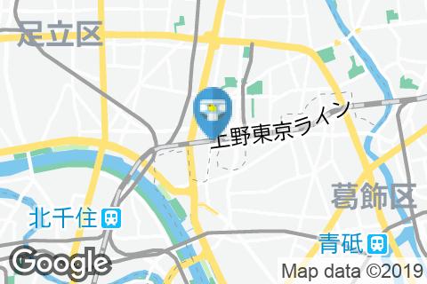 ガスト綾瀬駅前店(女子トイレのみ)のオムツ替え台情報