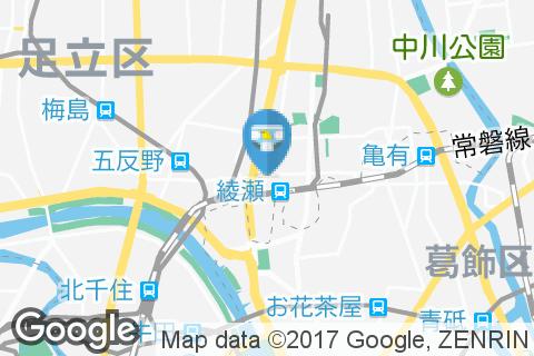 ベルクス・足立綾瀬店(2F)のオムツ替え台情報