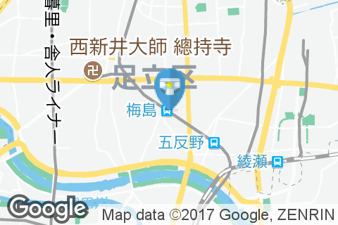 サイゼリヤ 東武梅島駅前店(1F)のオムツ替え台情報