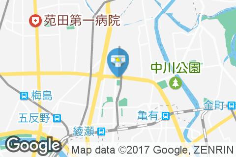 ブロンコビリー北綾瀬店(1F)のオムツ替え台情報