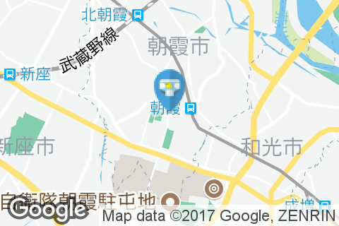 朝霞郵便局のオムツ替え台情報