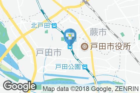 戸田駅(1F 構内多目的トイレ)のオムツ替え台情報