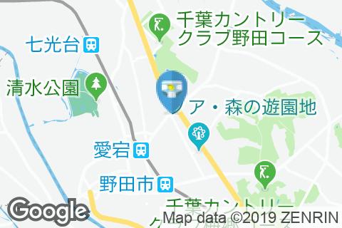 ガスト 野田店のオムツ替え台情報