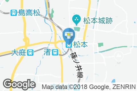 JR東日本 松本駅(改札内)のオムツ替え台情報