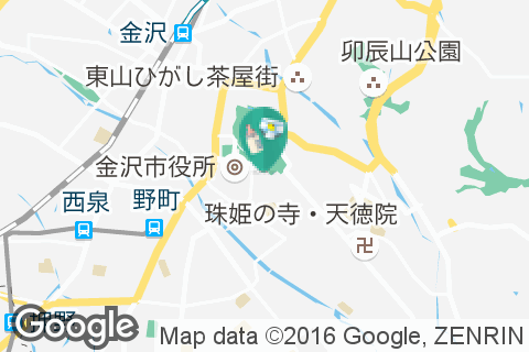 石川県立美術館の授乳室・オムツ替え台情報