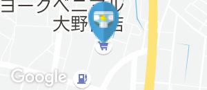 ヨークベニマル 大野目店(多目的トイレ内)のオムツ替え台情報