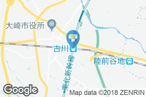 古川駅(改札外)のオムツ替え台情報