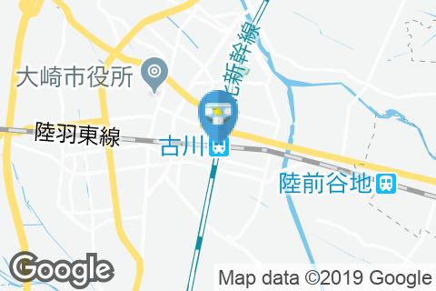 古川駅(改札外)(1階と2階(改札外))のオムツ替え台情報